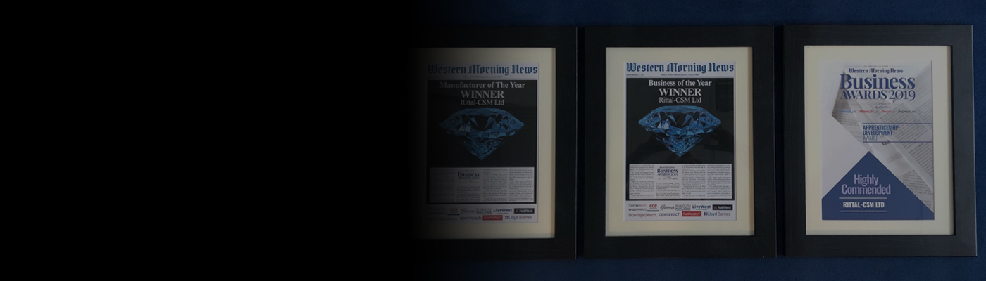 Rittal-CSM Achieves Three Accolades at Western Morning News Business Awards 2019